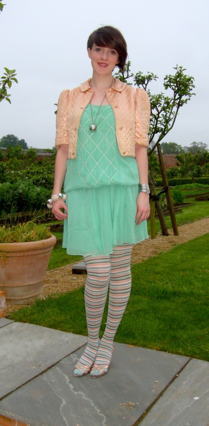 what katie wore at babington house